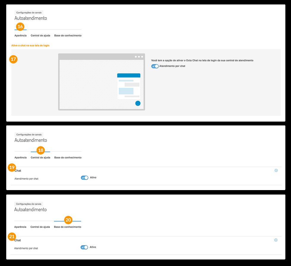 Chat para site - outros canais