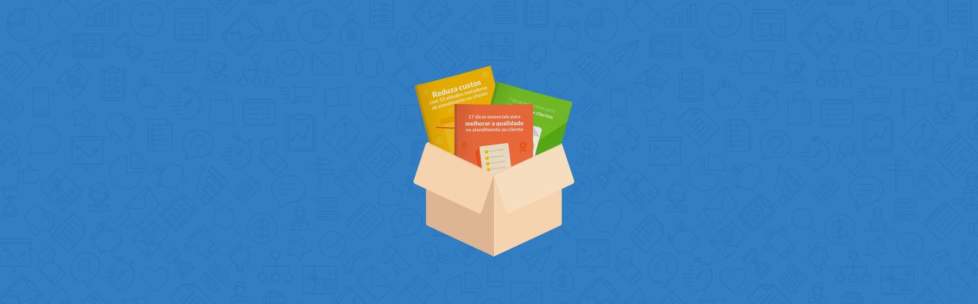 Kit todos os ebooks de atendimento ao cliente