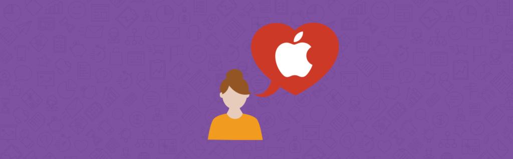 Atendimento ao cliente Apple