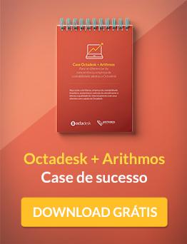 Case de sucesso: Octadesk + Arithmos