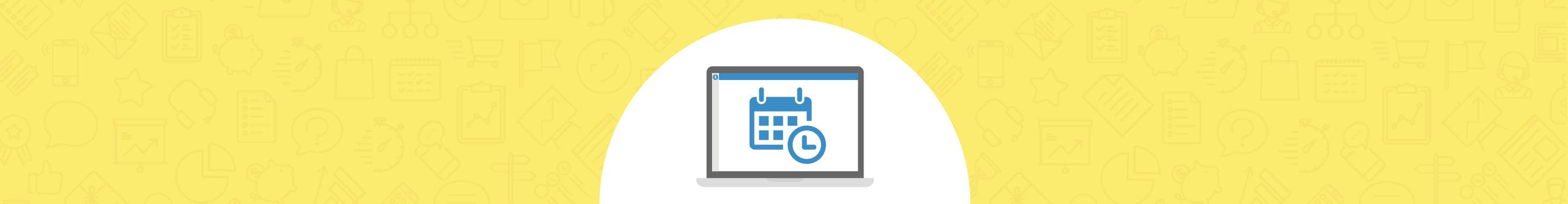 Como configurar um calendário personalizado