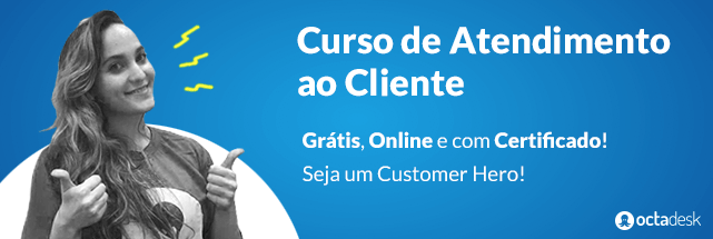 curso de atendimento ao cliente online e gratuito